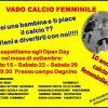 Open Day per il Vado femminile